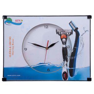 ساعت دیواری تبلیغاتی کد 220