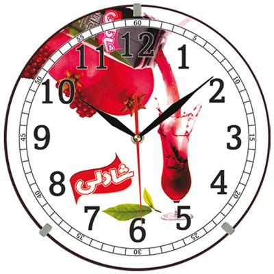 ساعت دیواری تبلیغاتی کد 222