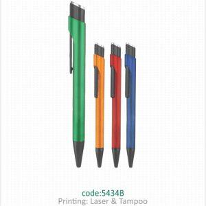 خودکار پلاستیکی تبلیغاتی کد 5434B