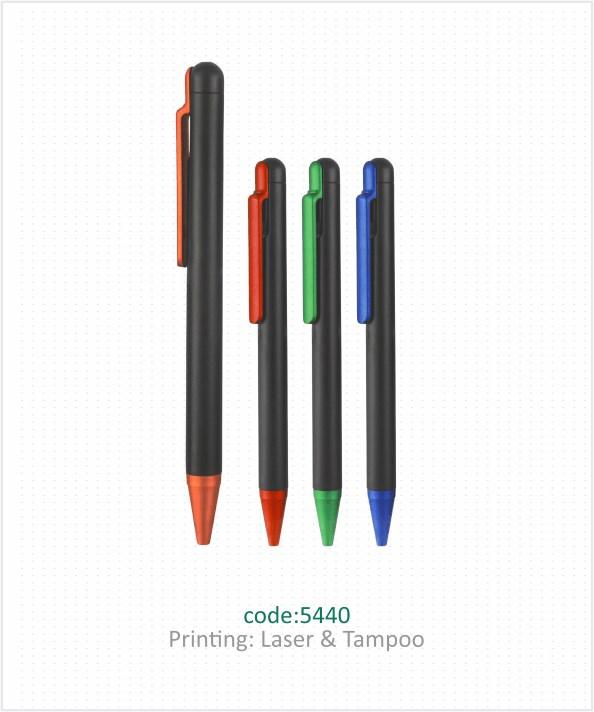 خودکار پلاستیکی تبلیغاتی کد 5440